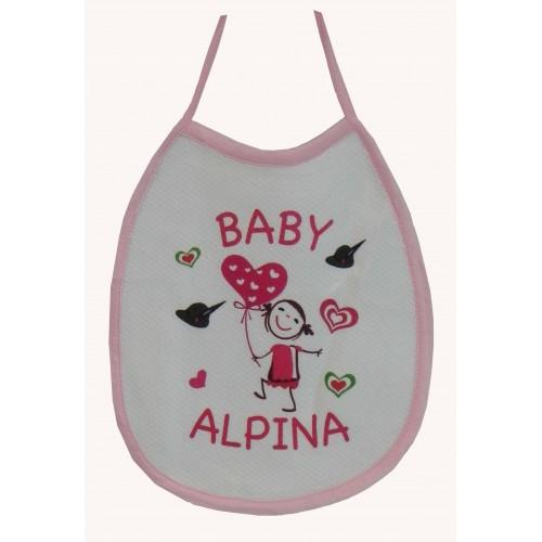 Bavaglino Baby Alpini