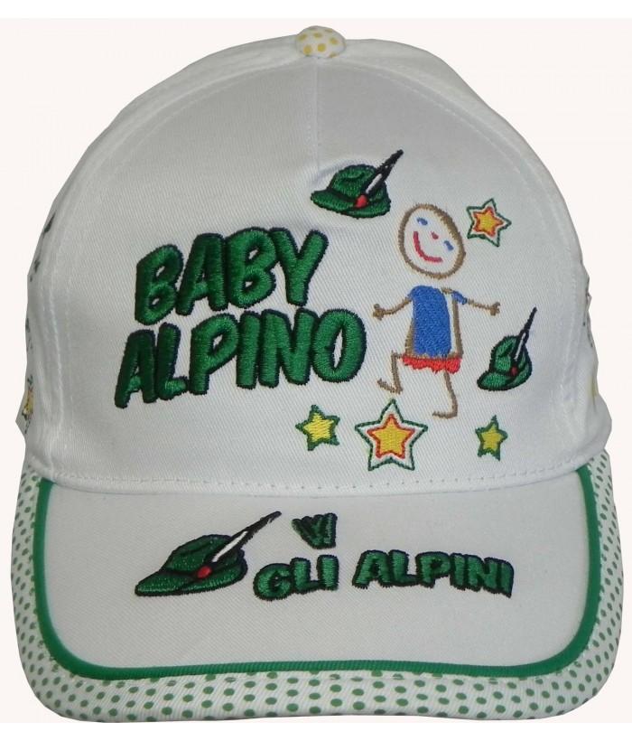 Cappello Baby Alpini