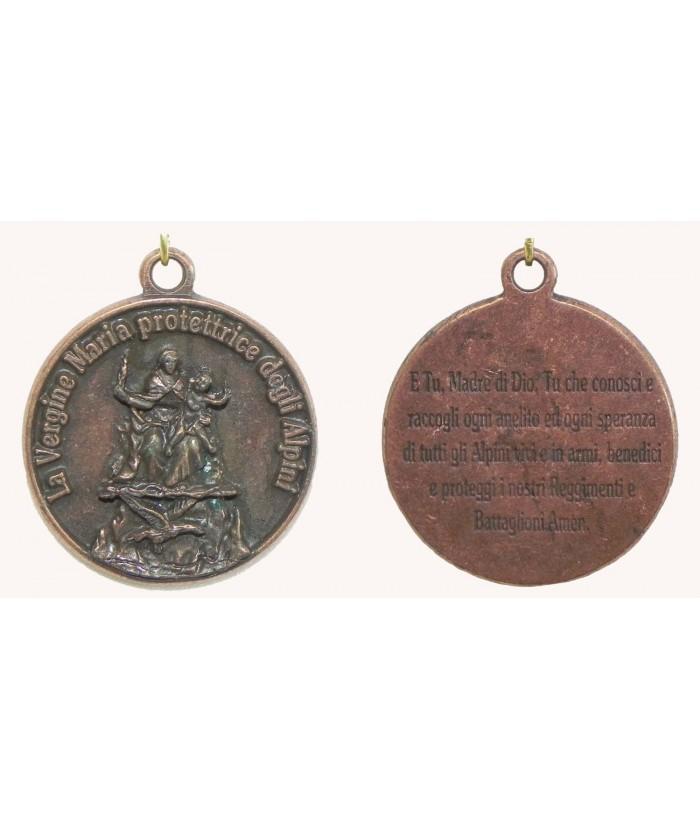 Medaglia Preghiera Alpini