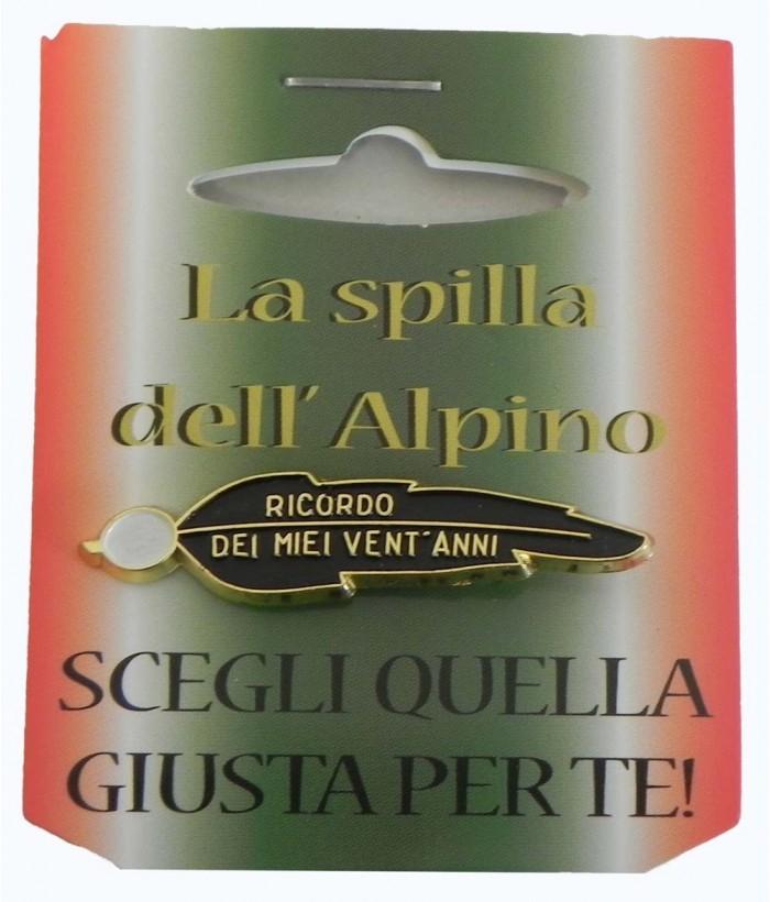 Spilla Ricordo 20 Anni Alpini