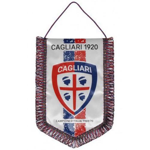 Gagliardetto Bianco Cagliari Calcio