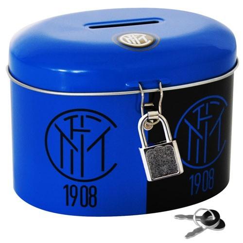 Salvadanaio Lucchetto Inter