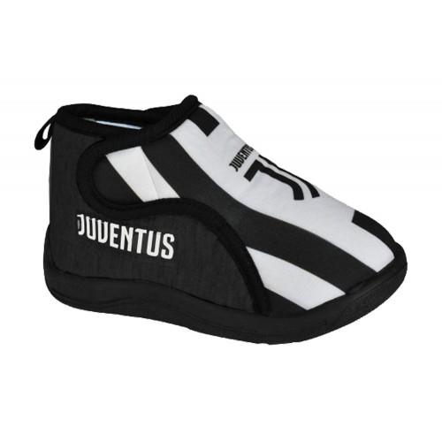 Pantofole Nere Bimbo Juventus