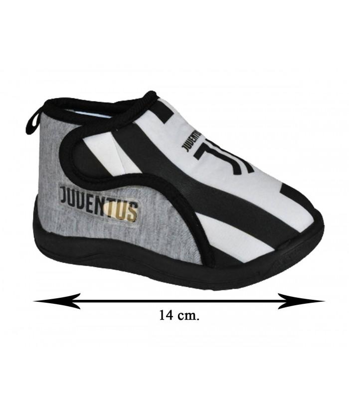 Pantofole Bimbo Grigie Juventus
