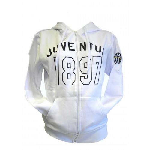 Felpa Uomo Bianca Juventus 1897