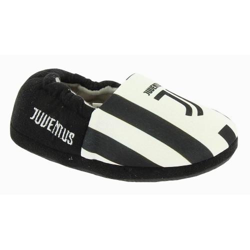 Pantofole Bimbo Juventus Nere