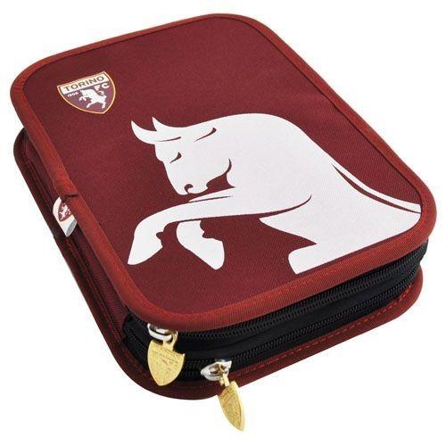 Portapenne Due Zip Torino FC