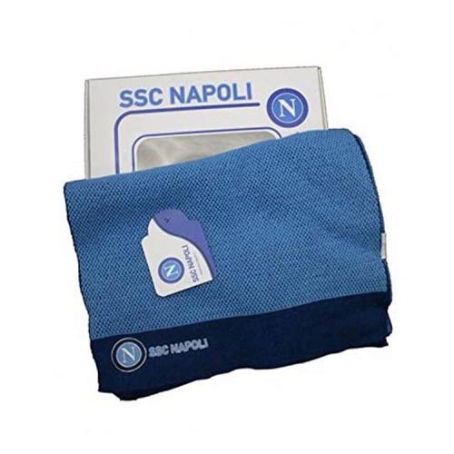 Sciarpa Classic Azzurra Napoli