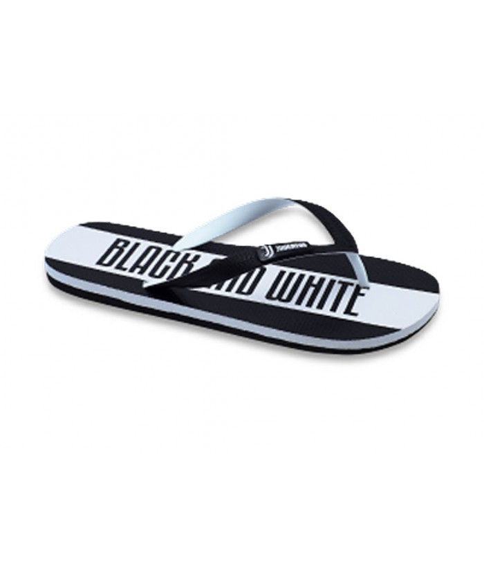Infradito Black and White Juventus