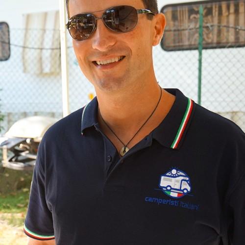 Polo Uomo Camperisti Italiani