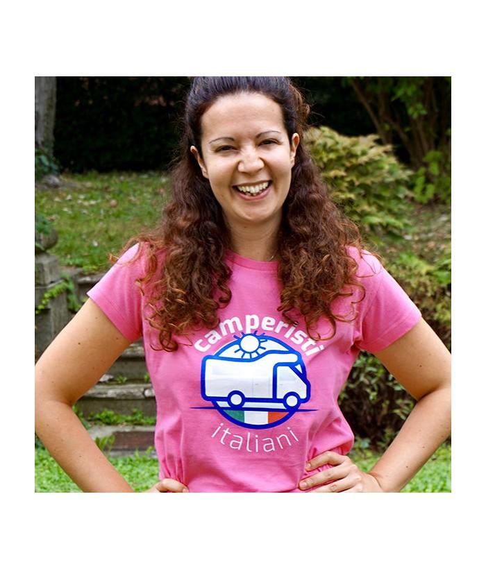 T-Shirt Donna Camperisti Italiani