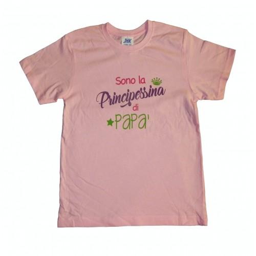 T-Shirt Principessina di Papà