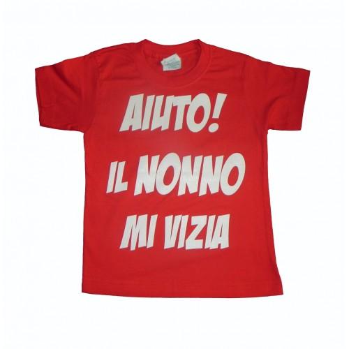 T-Shirt Aiuto! Il Nonno Mi Vizia