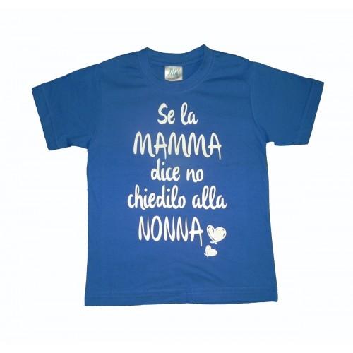 T-Shirt Se la Mamma Dice No