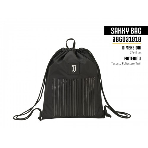 Sakky Bag Black And White Juventus