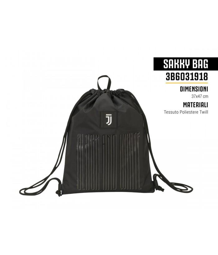 Sakky Bag Black And White Juventus