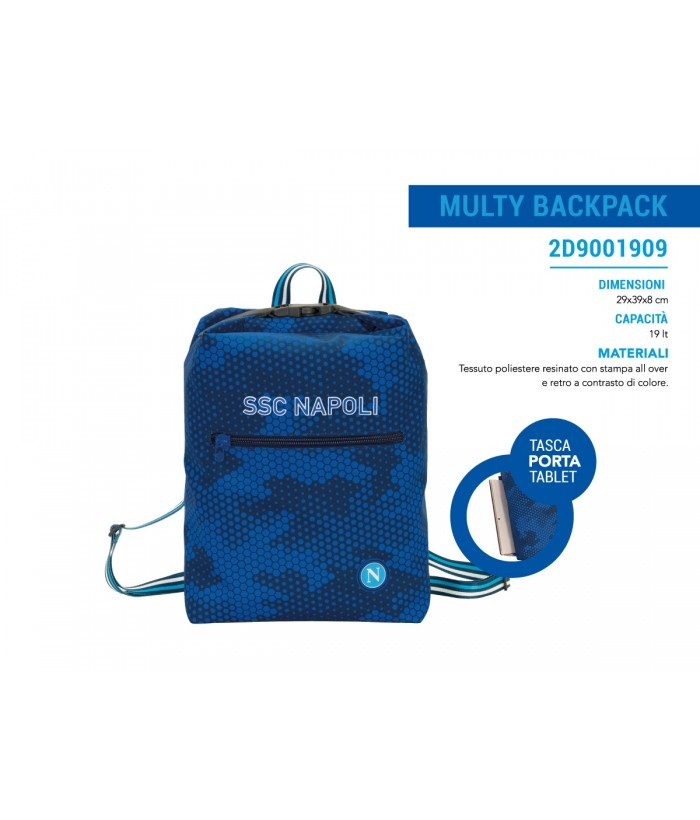 Zaino Multy Backpack SSC Napoli