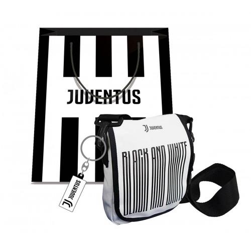 Borsello + Portachiavi Juventus