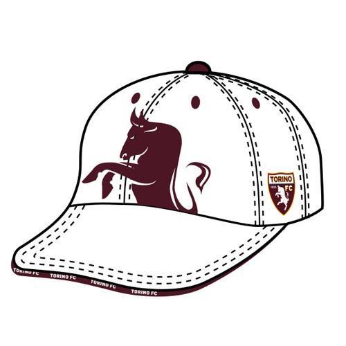 Cappello Visiera Bianco Torino FC