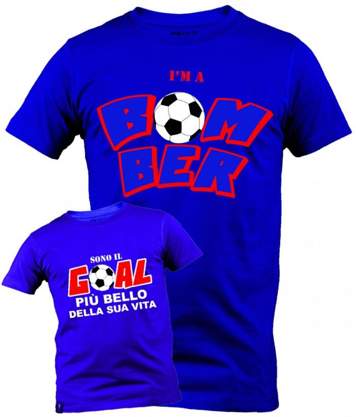 T-Shirt Coppia Bomber