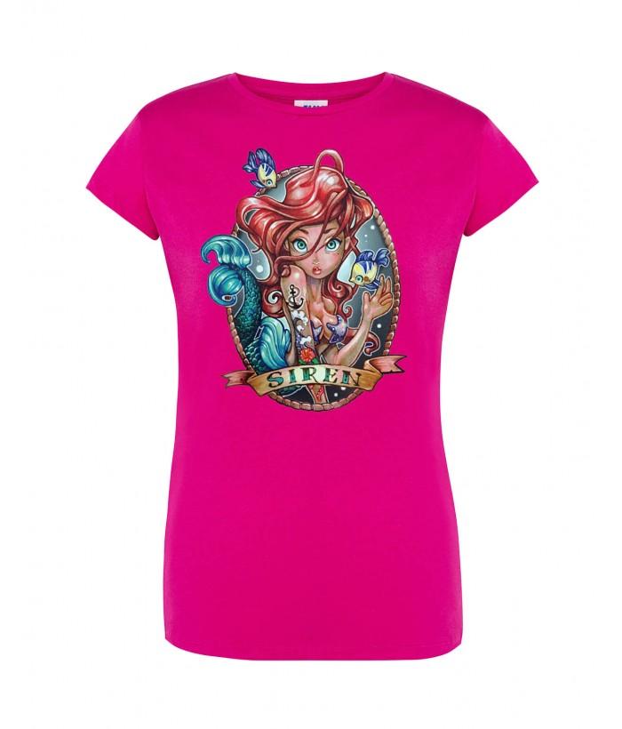 T-Shirt da Donna Ariel Pin-Up