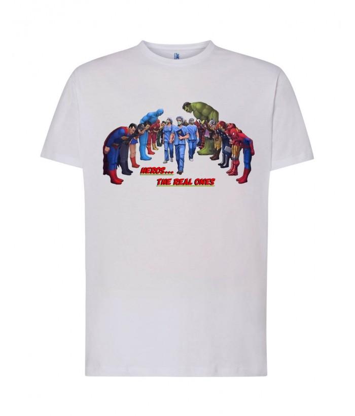 T-Shirt Dottori Supereroi