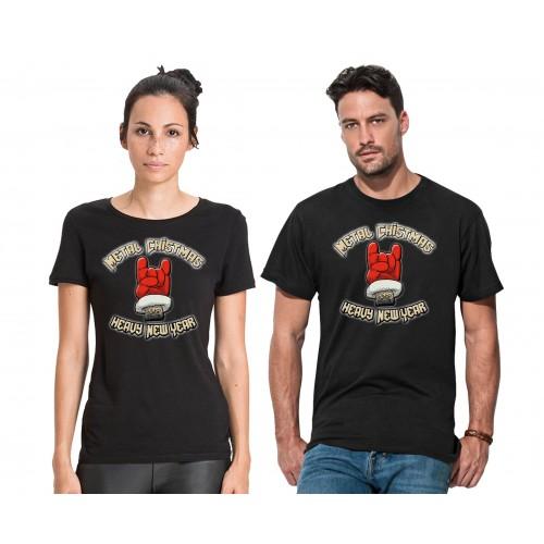 T-Shirt Metal Christmas