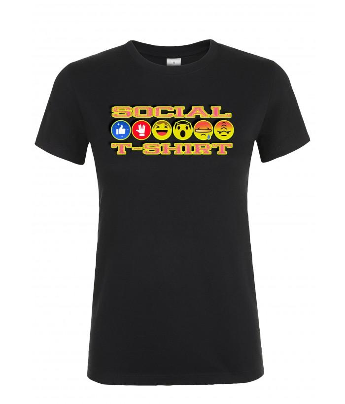 T-Shirt Donna Social