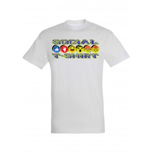 T-Shirt Uomo Social